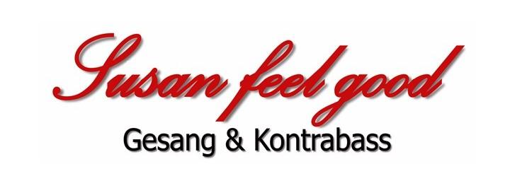 Freier Eintritt zu Konzerten von Susan feel good - Gesang & Kontrabass