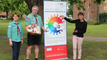 5.000. gültige Ehrenamtskarte geht nach Niebüll: Würdigung für Ehrenamtliche in ganz Schleswig-Holstein