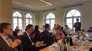 Leiterin des Büros der Ehrenamtskarte referiert beim BBE-Ländergespräch in Schwerin