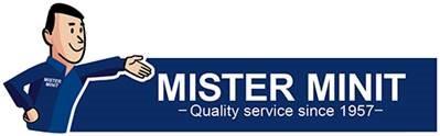 20 % Rabatt auf eine Dienstleistung Ihrer Filiale bei MISTER MINIT