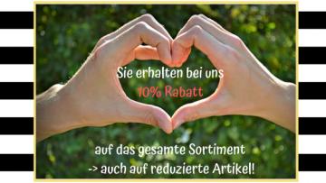 10% Rabatt auf das gesamte Sortiment - post image
