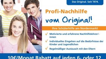 10 € Rabatt auf alle Monatsbeiträge bei Abschluss eines Laufzeitvertrags bei der Schülerhilfe Flensburg - post image