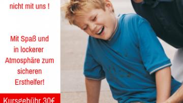 25% Rabatt auf einen Erste-Hilfe am Kind Kurs - post image
